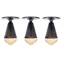 Cone Flushmount Lamp