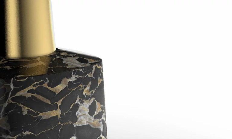 Italian Cone Marble Dining Table by Marmi Serafini For Sale