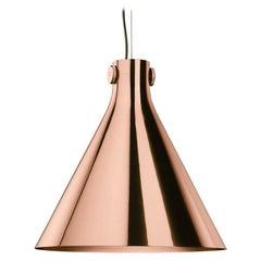 Cone Suspension Lamp in Copper By Richard Hutten