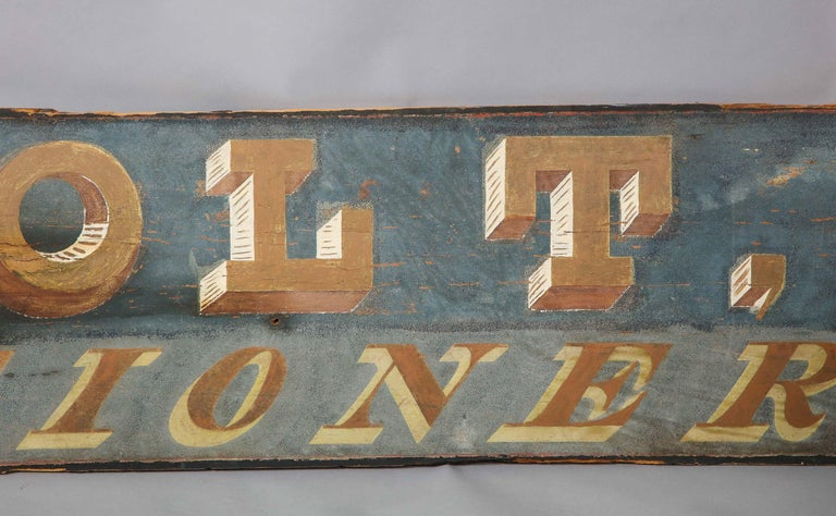 American Confectioner's Trade Sign For Sale