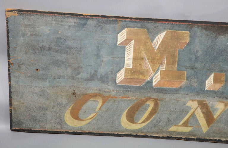 Mid-19th Century Confectioner's Trade Sign For Sale