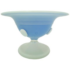 Confectionery Bowl Sweden Flashed Glass, 1920s