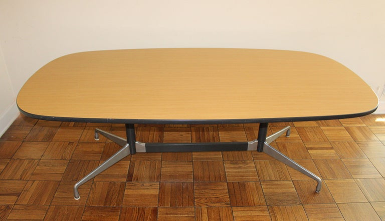 Mid-Century Modern Conference Table by Charles & Ray Eames for Herman Miller For Sale