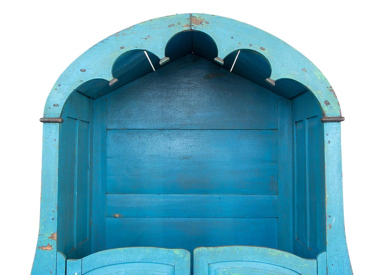 Confessional Booth, Early 20th Century, Mexican In Good Condition For Sale In Denver, CO