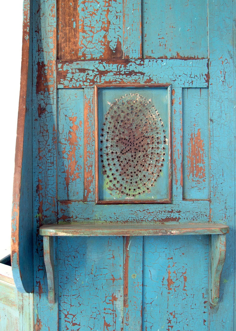 19th Century Confessional Booth, Early 20th Century, Mexican For Sale