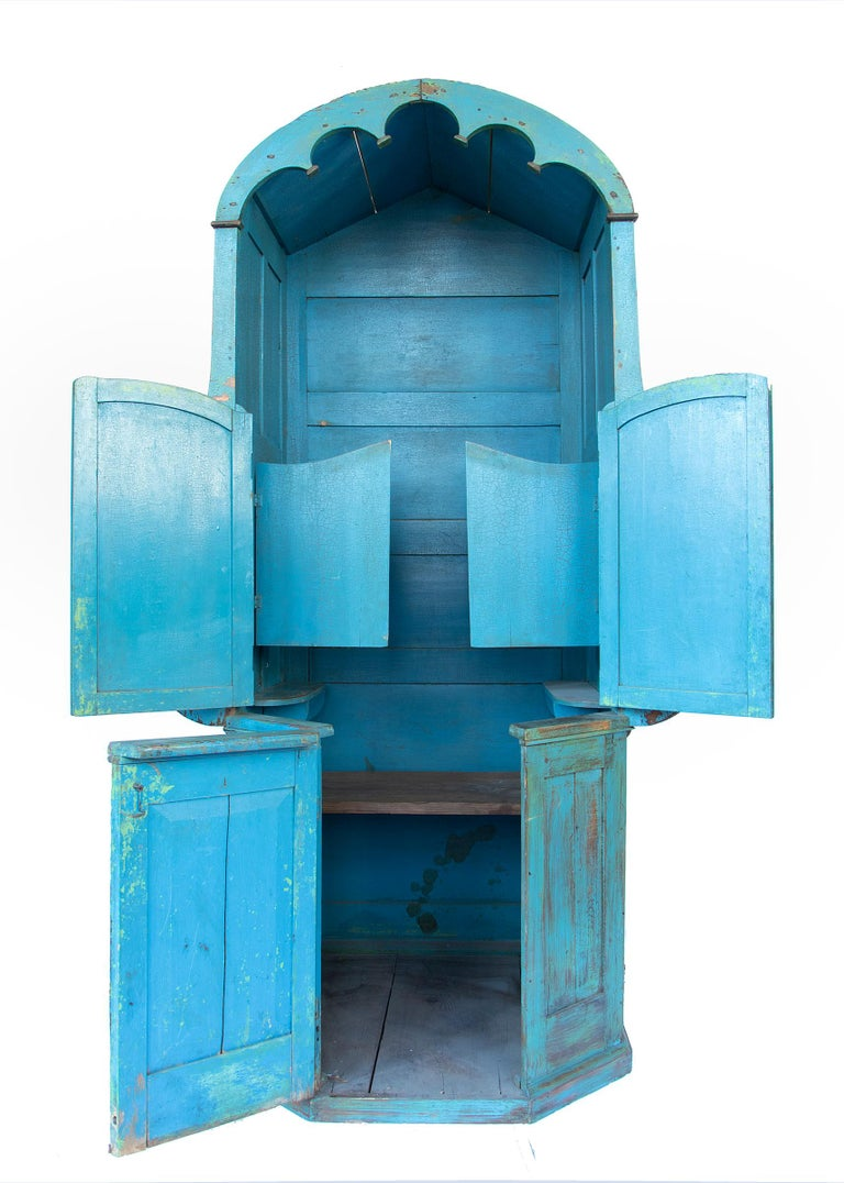 Confessional Booth, Early 20th Century, Mexican For Sale 1