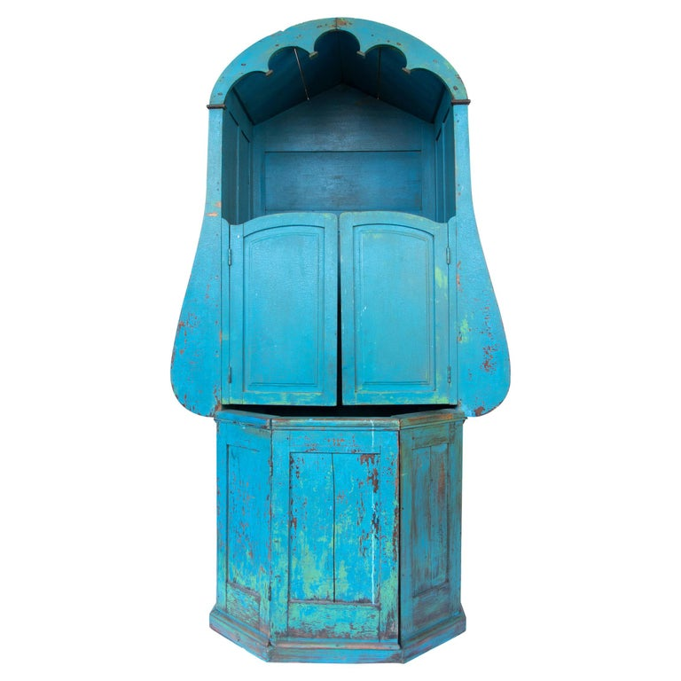 Confessional Booth, Early 20th Century, Mexican For Sale