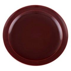 Confetti Royal Copenhagen / Aluminia Faience, Dinner/ Cover Plate, 7 Pieces