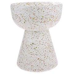 Confetti Side Table, Contemporary Swedish Handmade Side Table in Terrazzo