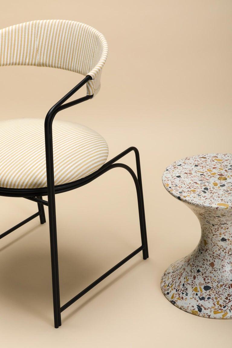 Confetti, Small Contemporary Indoor/Outdoor Terrazzo Side Table by Laun For Sale 7