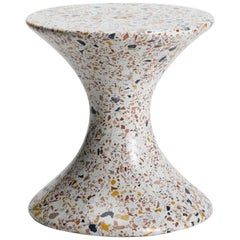 Confetti, Small Contemporary Indoor/Outdoor Terrazzo Side Table by Laun