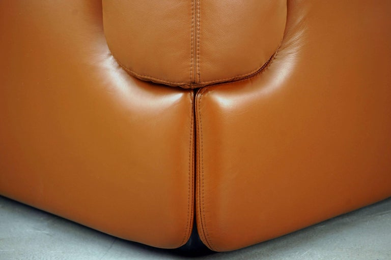 Confidential Series Sofa by Alberto Rosselli for Saporiti Italia, 1970s 7