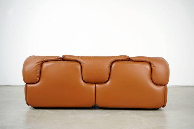 Late 20th Century Confidential Series Sofa by Alberto Rosselli for Saporiti Italia, 1970s