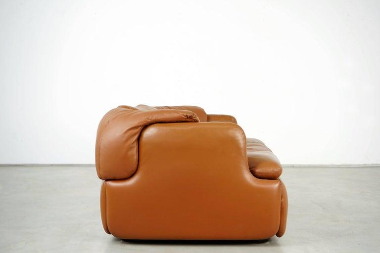 Confidential Series Sofa by Alberto Rosselli for Saporiti Italia, 1970s 1