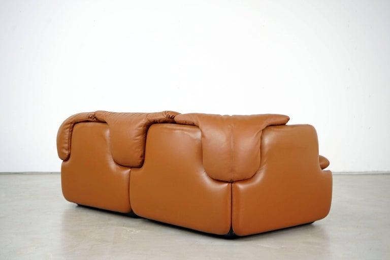 Confidential Series Sofa by Alberto Rosselli for Saporiti Italia, 1970s 2