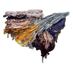Conflicting Forces Textile Art