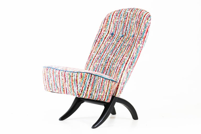 Mid-Century Modern Congo Lounge Chair by Theo Ruth for Artifort, 1950s For Sale
