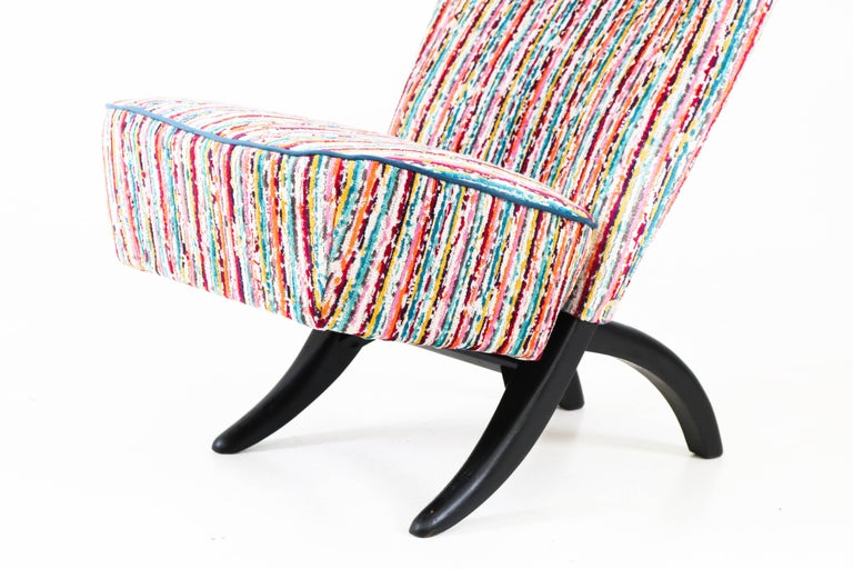 Dutch Congo Lounge Chair by Theo Ruth for Artifort, 1950s For Sale