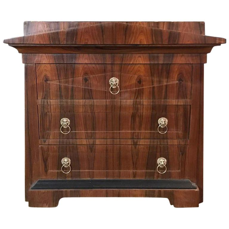 Conical Commode Chest of Drawers in the Biedermeier Style For Sale