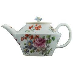 Conical form Teapot, Chelsea, circa 1755