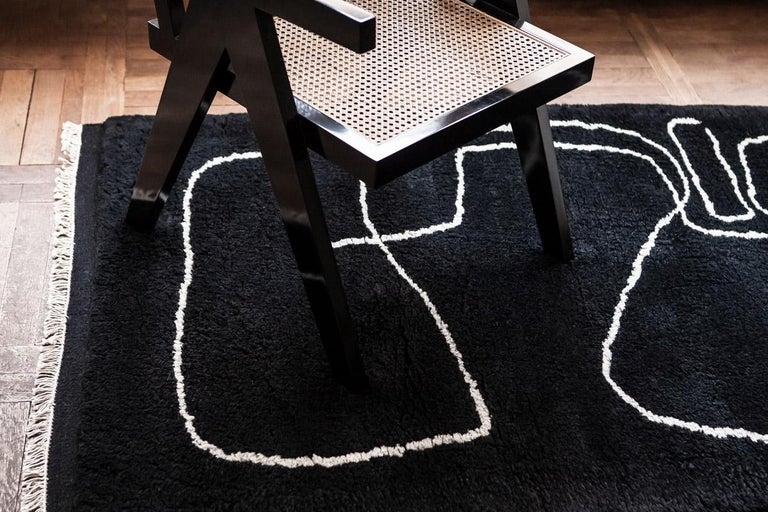 Designed in collaboration with Danish artist Carsten Beck Nielsen. The collection consists of three works of art – Simple object 11, Simple object 18 and Connection – which have been carefully selected and translated into rugs. The rugs are hand