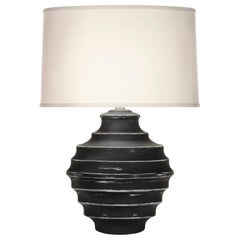 Connerly Table Lamp in Black by CuratedKravet