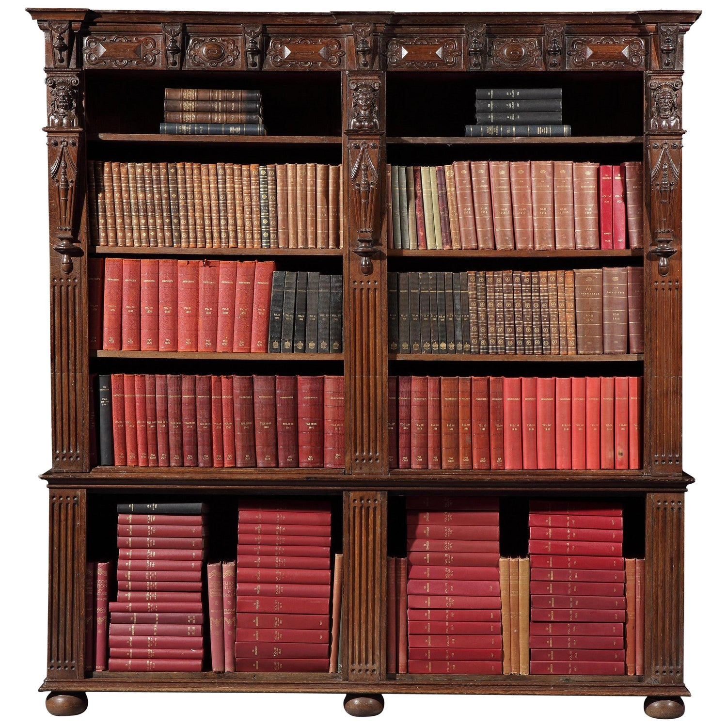 Connoisseur, Complete 218 Volumes in 84 Books Bound in Leather and Cloth
