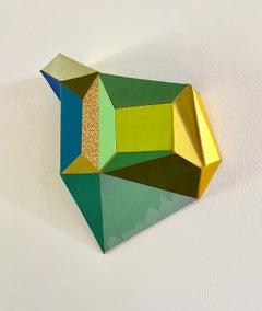 "Conny Goelz Schmitt ""Deja Vu"" - Sculpture made of vintage book parts"