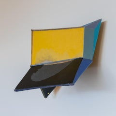 "Conny Goelz Schmitt ""Flyer"" - Wall sculpture made of vintage book parts"