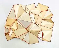 "Conny Goelz Schmitt ""Hocus Pocus Cumulus"" - Sculpture made of vintage book parts"
