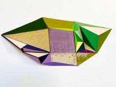 "Conny Goelz Schmitt ""Wisteria Dream"" - Wall sculpture made of vintage book parts"