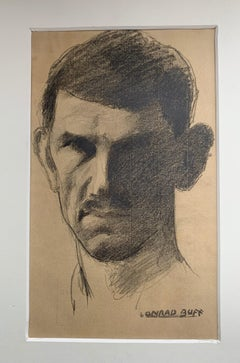 Conrad Buff Pencil Self-Portrait