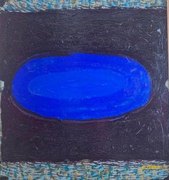 Untitled, Blue Oval