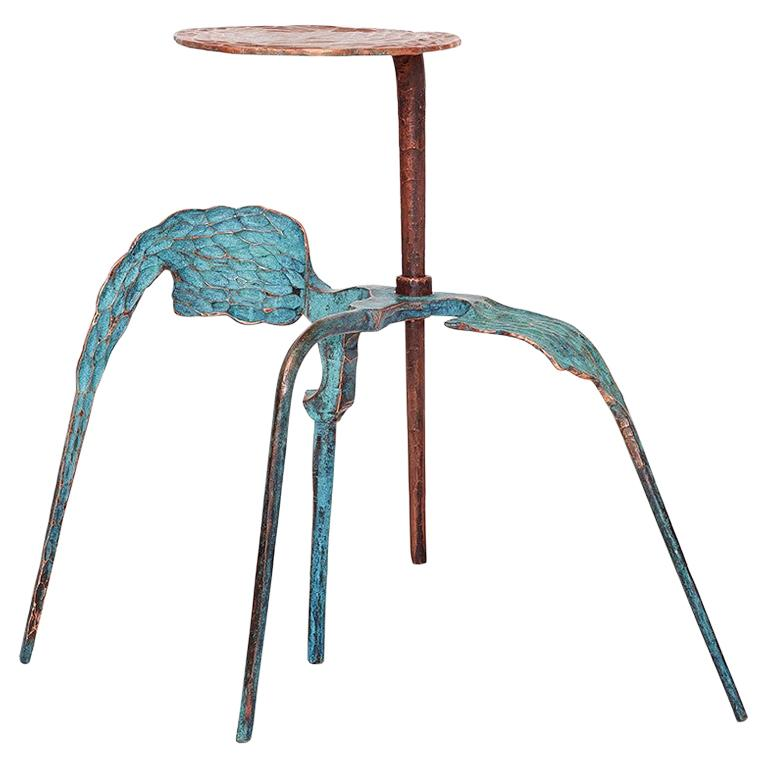 """Conrad Hicks, """"No.2 From the Maquette Series"""", Forged Copper Table For Sale"""