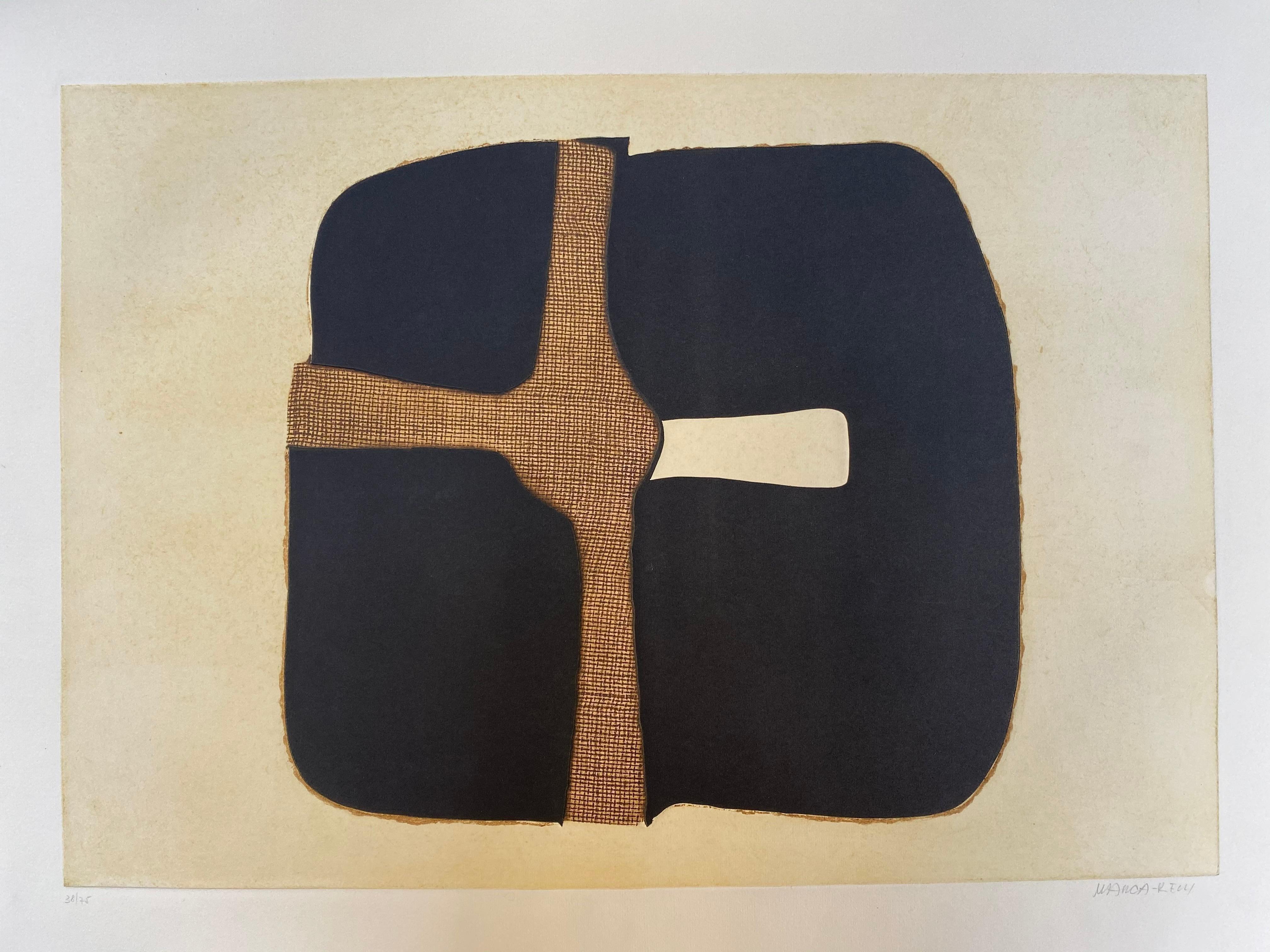 Conrad Marca-Relli Composition 3 - 1977
