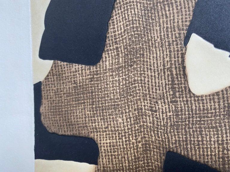 Conrad Marca-Relli Composition Lithography 1977 For Sale 1