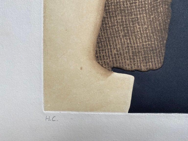 Conrad Marca-Relli Composition Lithography 1977 For Sale 2