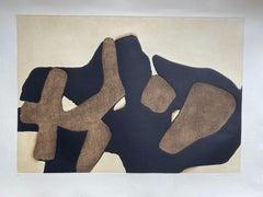 Conrad Marca-Relli Composition Lithography 1977