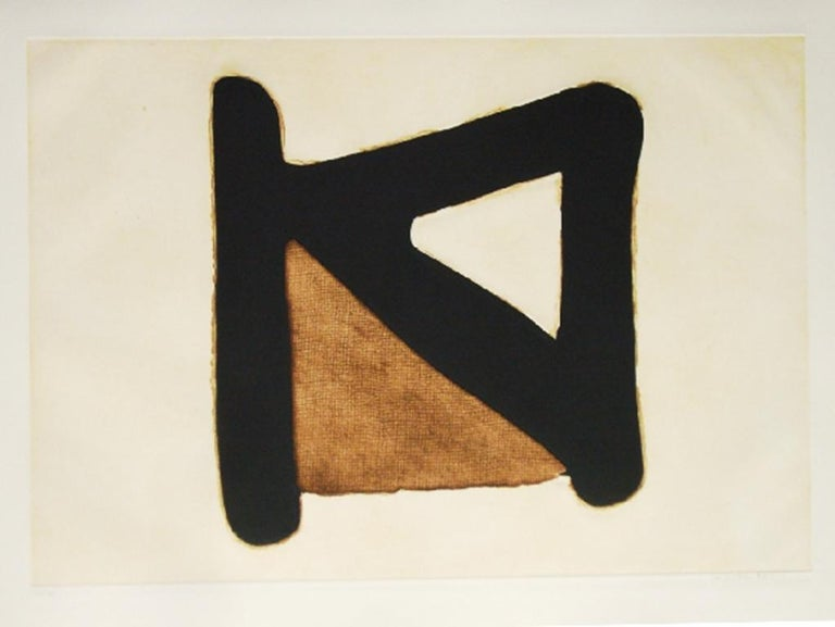 Conrad Marca-Relli Abstract Print - CONRAD MARCA-RELLI Limited ed. Etching & Aquatint American Modern, Contemporary
