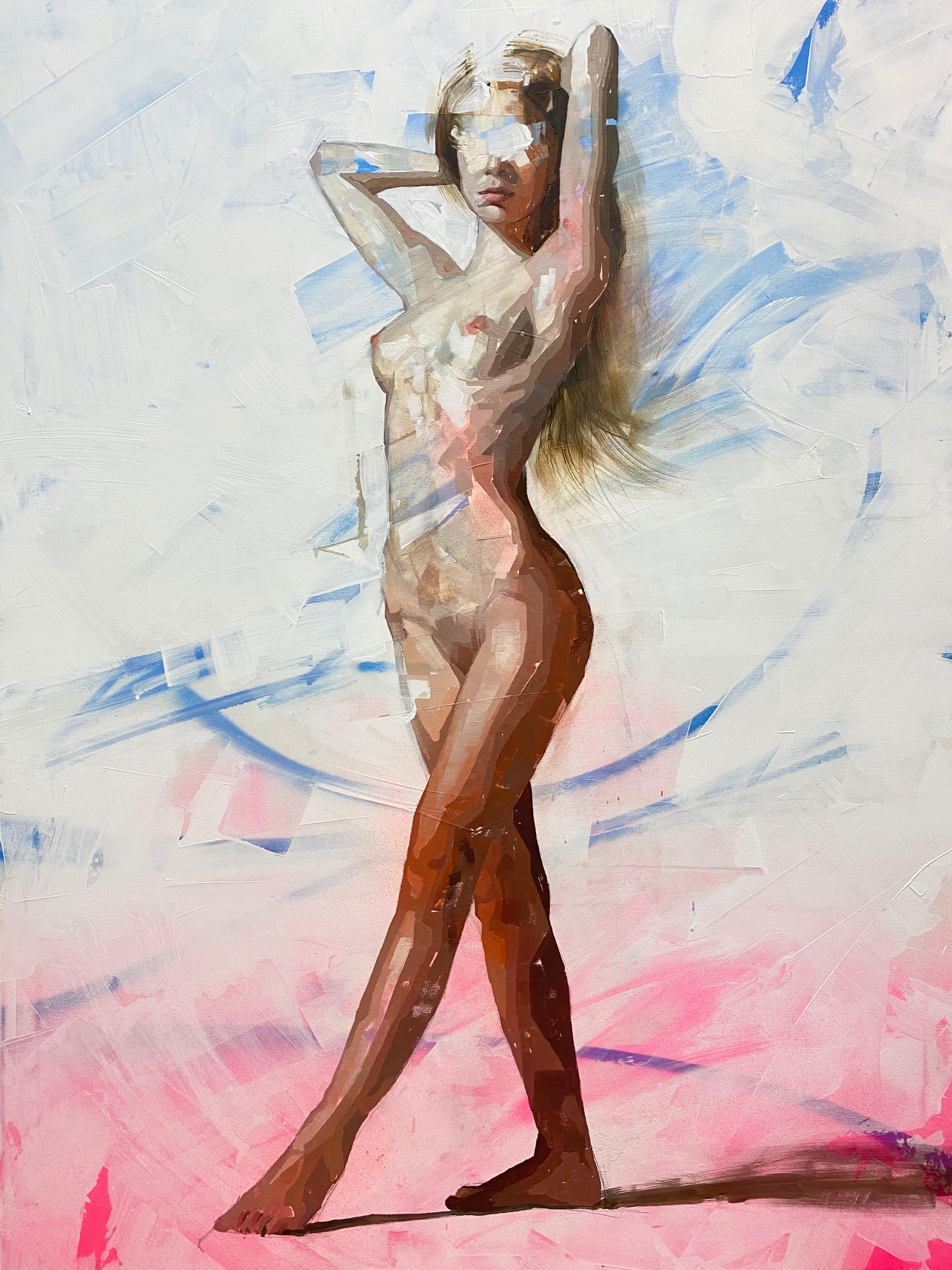 """""""Anabel,"""" Oil Painting"""