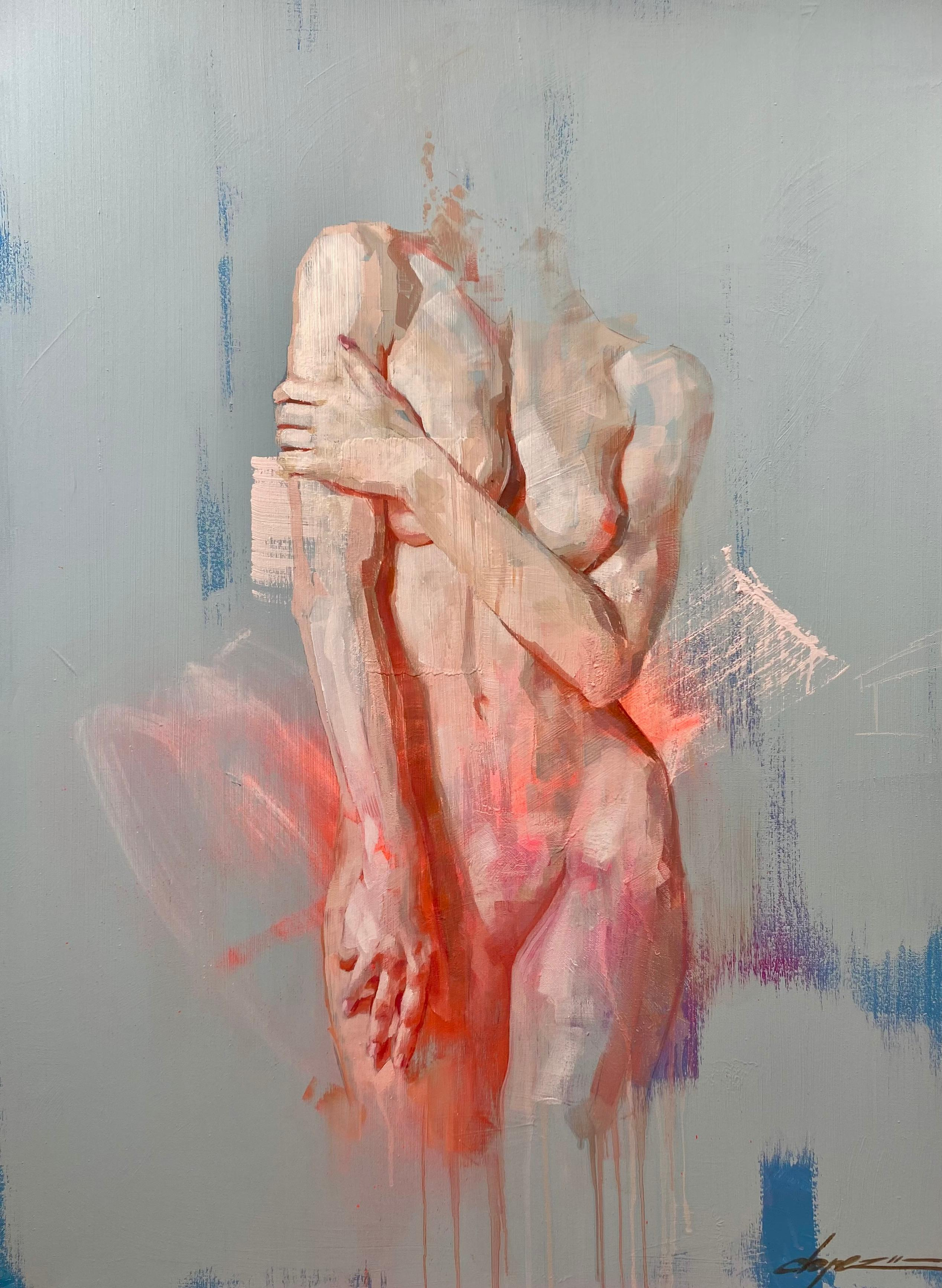 """""""Contemplativa,"""" Oil Painting"""