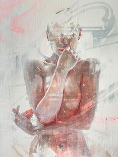 """Dubitativa,"" Oil Painting"