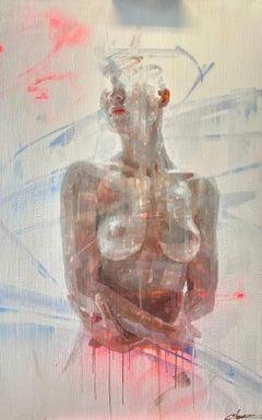 """""""Serenidad,"""" Oil Painting"""