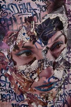 Ocata - 21st Century, Contemporary, Figurative Painting, Portrait, Street Art