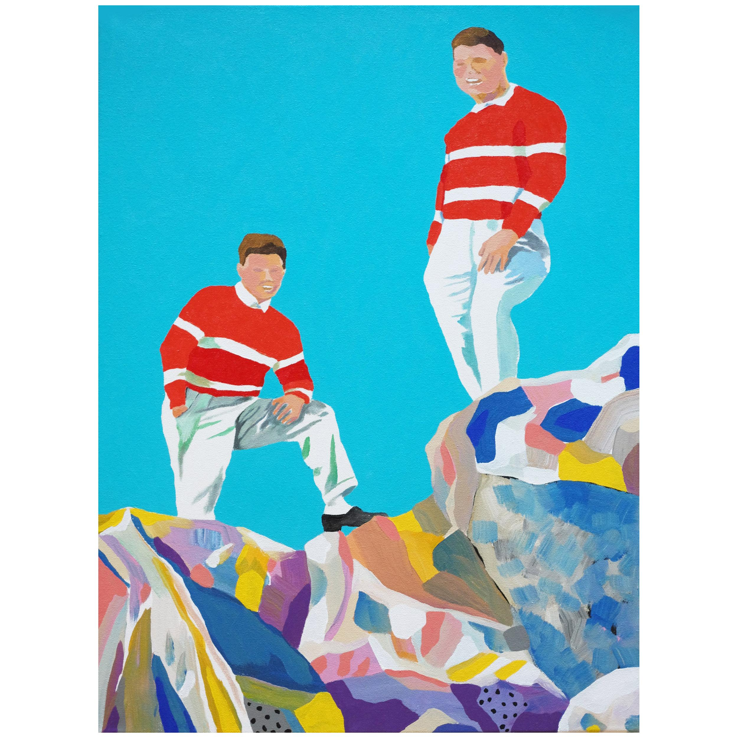 'Conservative Views' Portrait Painting by Alan Fears Pop Art