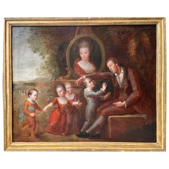 Consolation 18th Century French Painting