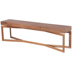 Laminated wood Console Cross