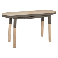 Console Desk in solid Ash Wood by Eric Gizard, South Scandinavian Style