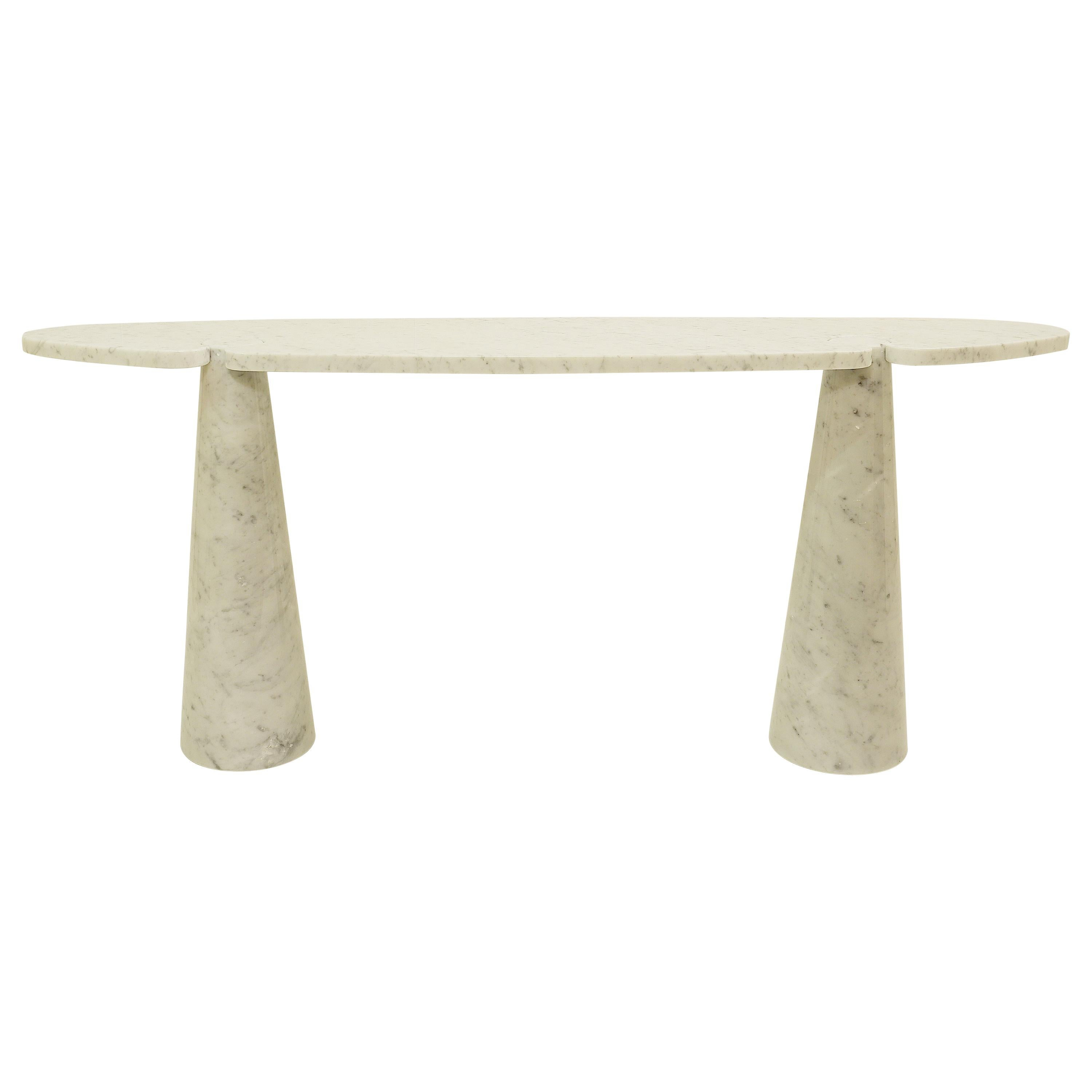 Console in Marble by Angelo Mangiarotti