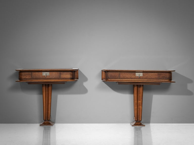 Console Inlayed with Leather by Vittorio Valabrega For Sale 5